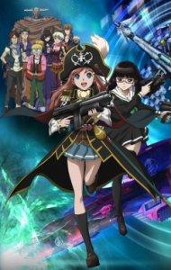 Mouretsu Pirates / Лихие космические пираты (RUS)