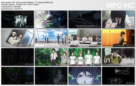 M3: Sono Kuroki Hagane / М3: Чёрный металл (SUB)