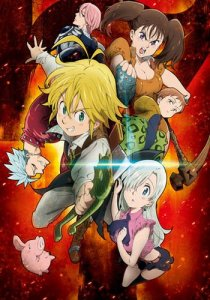 Nanatsu no Taizai: The Seven Deadly Sins / Семь смертных грехов (RUS)