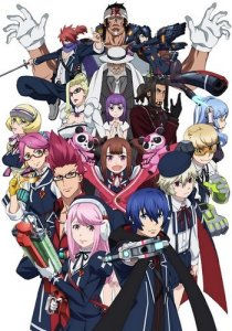 Gunslinger Stratos The Animation / Небесные стрелки (SUB)