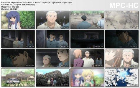 Higurashi no Naku Koro ni Kai / Когда плачут цикады (второй сезон) (RUS)