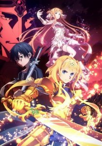Sword Art Online: Alicization - War of Underworld / Мастера меча онлайн: Алисизация - Война в Подмирье [ТВ-1] (RUS)