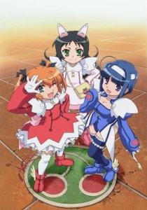 Kaitou Tenshi Twin Angel: Kyun Kyun Tokimeki Paradise!! / Небесные воровки, близняшки-ангелочки (RUS)